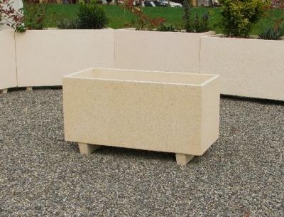 grande jardini re en pierre le mobilier b ton. Black Bedroom Furniture Sets. Home Design Ideas