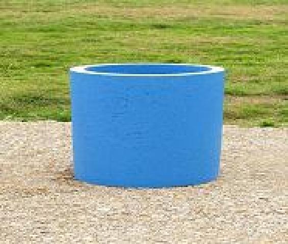 Bac fleur rond pour vos plantes mobilier b ton - Bac a fleur beton ...