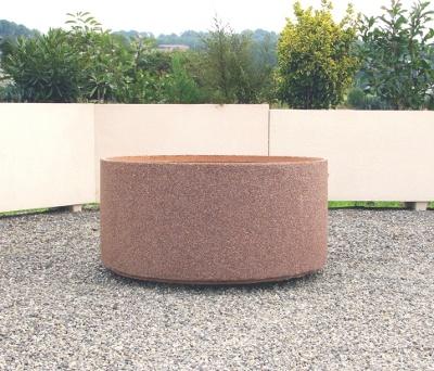 grand bac fleur en pierre le mobilier b ton. Black Bedroom Furniture Sets. Home Design Ideas