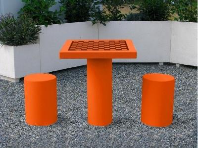 table chiquier pour l 39 ext rieur mobilier b ton. Black Bedroom Furniture Sets. Home Design Ideas